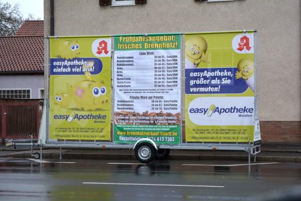 """Neustädter Straße (im Bereich """"real-Markt"""", """"Aldi"""", """"EDEKA"""", 92637 Weiden"""
